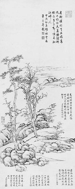 丹东建筑手绘图